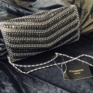 Handbags - Black Clutch Evening Bag
